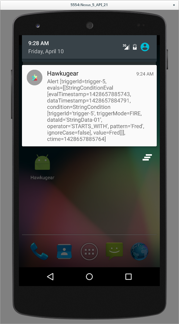 Hawkugear Android application