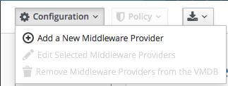Add provider button