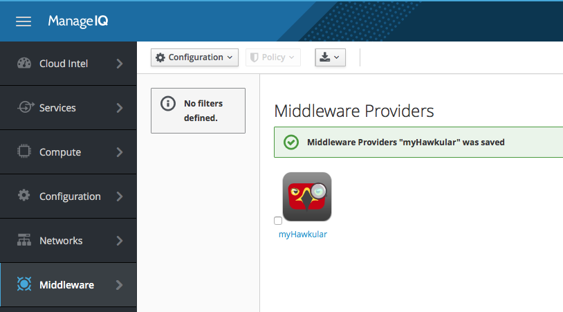 Overview of Middleware providers