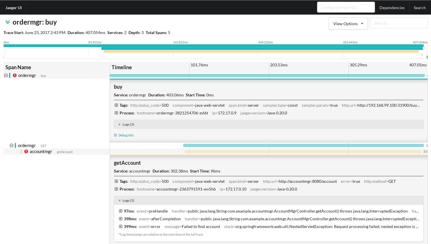Hawkular - Using OpenTracing to collect Application Metrics
